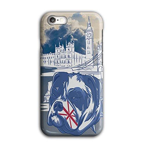 land Vereinigtes Königreich Hund Hülle für iPhone 8 London Rutschfeste Hülle - Slim Fit, komfortabler Griff, Schutzhülle ()