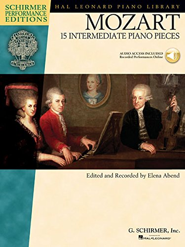 15 Intermediate Piano Pieces  +Enregistrements Online (Schirmer Performance Editions)