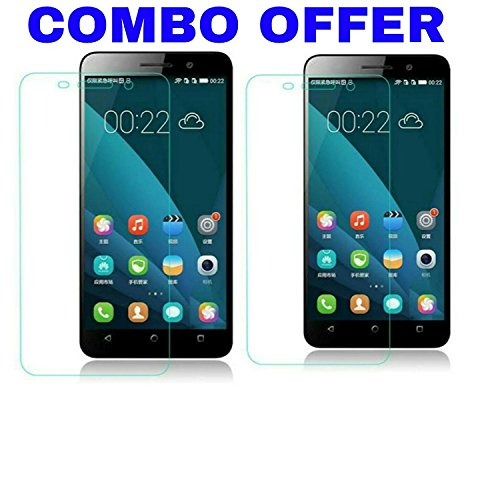 AVICA Combo Buy 1 Get 1 Free 0.3mm HD Premium Tempered Glass Screen Protector for Huawei Honor 4X image