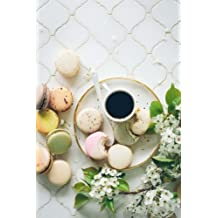 Macarons and Espresso Notebook: 150 page lined 6 x 9 notebook/diary/journal