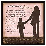 Gebet.. My Mom Holz Rahmen Gedenktafel mit Staffelei - Best Reviews Guide