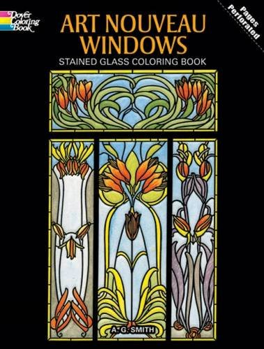art-nouveau-windows-stained-glass-coloring-book