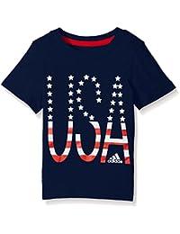adidas Boys' Core Graphic Tee Shirt