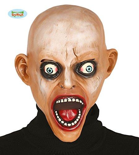 Guirca 2406 - Mascara Zombie Calvo Latex