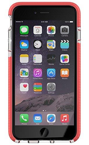 Evo Mesh Sport Hülle für Apple iPhone 6 Plus/6s Plus - transparent/pink (Tech 6 21 Mesh Plus Evo)