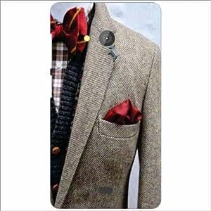 Microsoft Lumia 540 Dual SIM Back Cover - Clothes Designer Cases