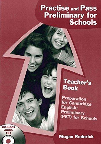 Practise & Pass Pet for Schools: Teachers Book by Megan Roderick (Teacher's Edition, 13 Jun 2014) Paperback
