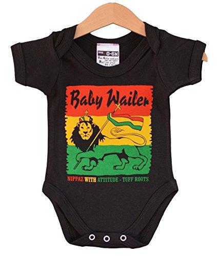 Baby Wailer babybody. Reggae baby strampler. Coole baby geschenk (6-12 months)