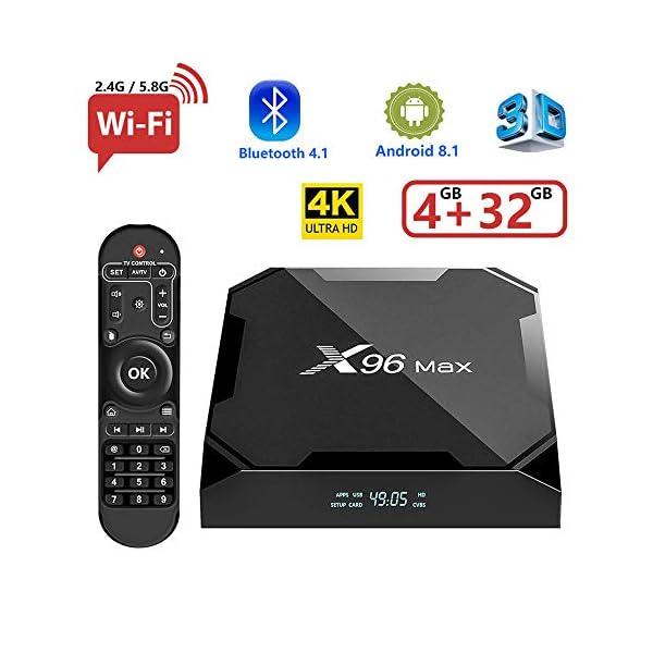 BASKER-X96MAX-TV-Box-Android-81-4GB32GB-Amlogic-S905W-24G50B-WiFi-HD-H265-Ture-4K-Playing-Quad-Core-64bits-Smart-TV-Box