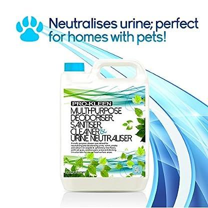 5L of Multi-Purpose Deodoriser, Disinfectant, Sanitiser, Cleaner & Urine Neutraliser - Super Concentrated, Professional… 4
