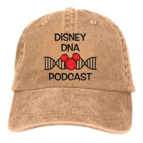 Rasyko Dis-ney DNA Pod-Cast Gear Sommerhut Cool Heat Shield Unisex Erwachsene Cowboyhut -