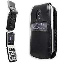 934c44dcc3f caseroxx – Housse de téléphone Portable à Clip pour Doro 6050 6051 en Cuir  veritable