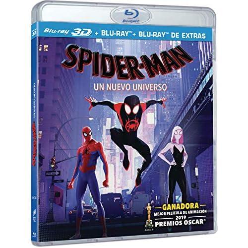 Spider-Man: Un Nuevo Universo (BD 3D + BD + BD Extras) [Blu-ray] 1
