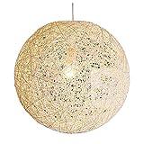 F.A.N.G.Canju Cocoon L Stylische Hängeleuchte Weiß 45Cm