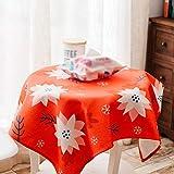 PQPQPQ Seelsorge, Kreative Tischdecken Restaurant Lounge Couchtisch Staub Tuch Nachttisch Handtuch in Stoffbezug, 4 140 * 140 cm