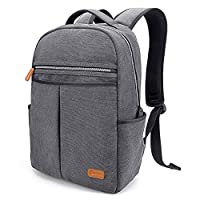 Tomtoc 15.6 Inch Laptop Backpack Rucksack School Bag Travel Backpack Daypack for Working School Hiking Camping - Grey