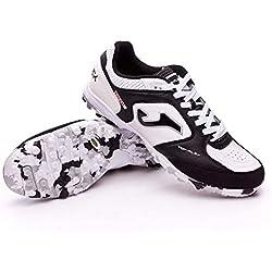 Joma Top Flex 702 White Black Turf - Scarpe Calcetto - Futsal Shoes - TOPW.702.TF (42)