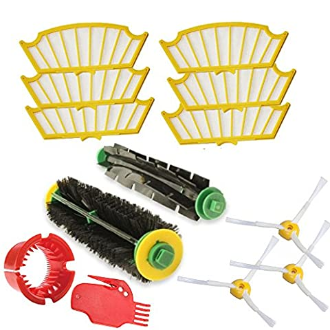 IRobot Roomba Parts Kit Series 500 505 510 520 530 532 535 540 550 551 555 560 562 564 565 570 571 572 580 581 - Official Bosaca 24 Month Warranty