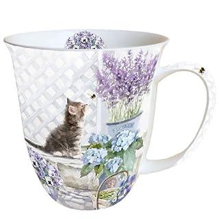 Ambiente Mug Tee / Kaffee Becher Kitten - Katze ca. 0.4L