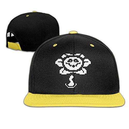 sunny-fish6hh-unisex-ajustable-undertale-flowey-hiphop-sombrero-gorras-de-beisbol-para-ninos-adolesc