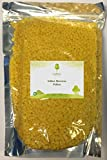 LiveMoor 1kg weiße Bienenwachspellets, 100 % rein und natürlich