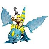Dragons - Dragón Dragon y Vikingo Hiccup & Toothless con alas Negras...
