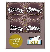 Cubes 12) : Kleenex Ultrasoft Facial Tissues, Pack Of 12