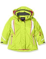 CMP - Chaqueta de esquí para niña, otoño/invierno, niña, color Acido, tamaño 10 años (140 cm)