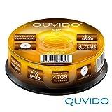 QUVIDO–25DVD-RW 120minutos y 4,7GB 4x en tarrina//Ritek