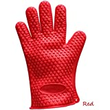 1PC Fashion Comfrotable Silicone Kitchen Dish Washing Heat Resistant Glove Oven Pot Holder Baking BBQ Cooking Gloves Mitts Hot