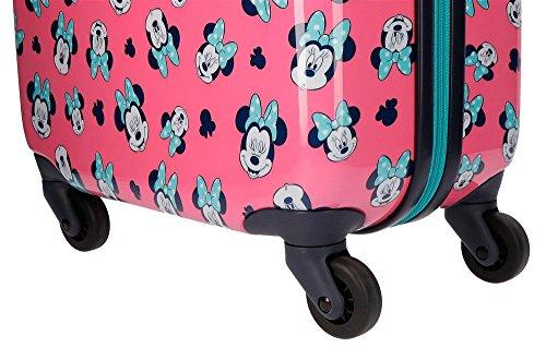 Disney Wink Equipaje infantil, 33 litros, Rosa