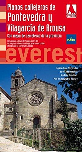 Planos callejeros de Pontevedra y Vilagarcía de Arousa: Con mapa de carreteras de la provincia (Planos callejeros/serie roja)