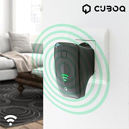 Preisvergleich Produktbild CuboQ ig111023–Wi-Fi Repeater 300Mbps (Frequenz: 2,4–2,4835GHz)