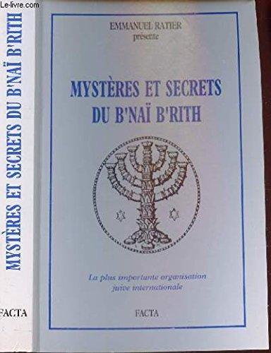 Mystres et secrets du B'Na B'Rith