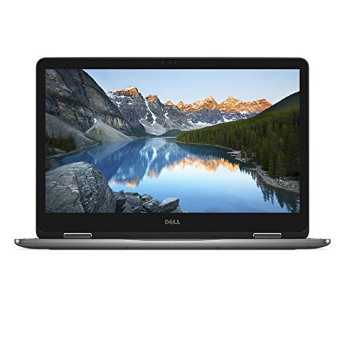Dell Inspiron 7773-0043 17 7000 43,94 cm (17,3 Zoll FHD Touch) Convertible Notebook (Intel Core i7, 16GB RAM, 128GB SSD LC, 1TB HDD, Win10) silber (Dell 7000 Laptop)
