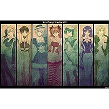 Neon Genesis Evangelion (38x24 inch, 96x60 cm) Silk Poster Seda Cartel PJ1B-FBF5