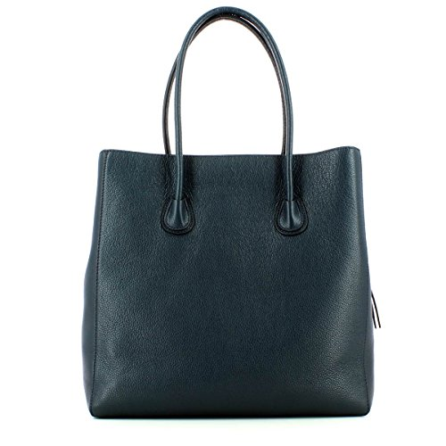 COCCINELLE CELLY DOUBLE SHOULDER BAG XA0110101 571 BLU/MERLOT