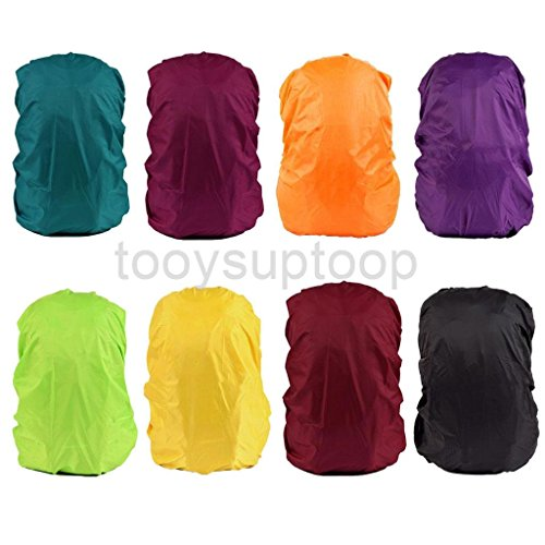 51B234tMxRL. SS500  - Outdoor Backpack Bag Rain Cover Waterproof Travel Sports Camping Hiking - 8 Colros