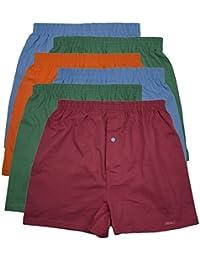 MioRalini 6 Blandos Calzoncillos de Hombre en Clásico y Más Colores 100% Algodón con y sin la Participación Tamaño Costuras Laterales 5-M - 10-4XL