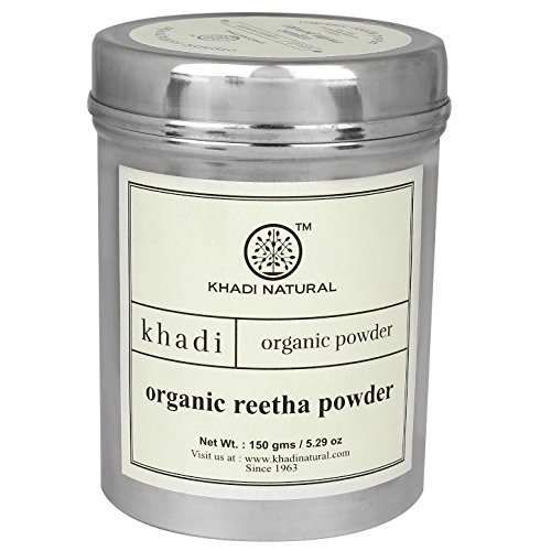 Khadi Natural Khadi Organic Reetha Powder 150 gm