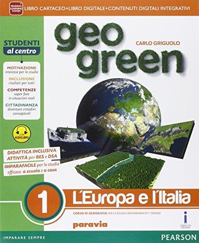 Geo green. Ediz. light. Per la Scuola media. Con e-book. Con espansione online: 1