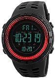 Herren Sport Uhren Chronograph Countdown Multifunktions Wasserdicht Digital Armbanduhr Alarm Militär Uhr