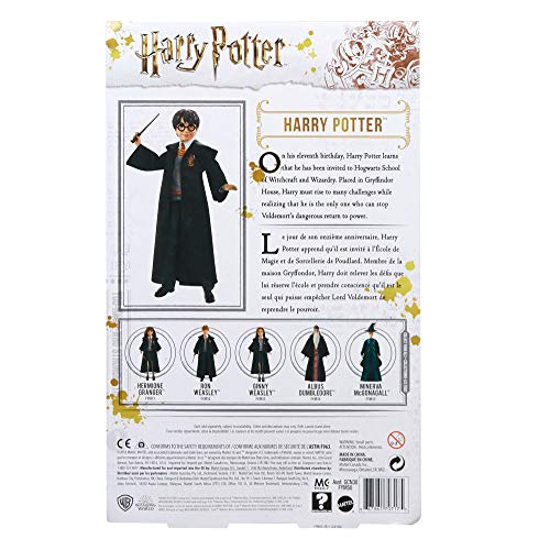 51B25rwnQzL - Harry Potter Muñeco Harry de la colección de Harry Potter (Mattel FYM50)