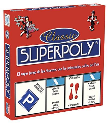 Comprar juego de mesa: Falomir Superpoly, Juego de Mesa, Clásicos, Multicolor (646375)
