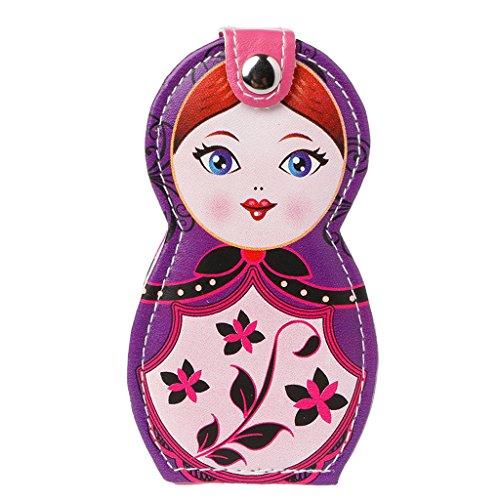 Kostüm Russischen Puppen - A0127 Maniküre-Set für Maniküre Kostüm Profi Art Anfänger Pediküre Nägel Set Nagelpflege Peeling Schicht Geschenkset 6-teilig/Russische Puppe