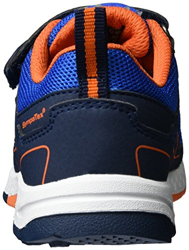 Lurchi Lasse-sympatex, chaussons d'intérieur garçon Blau (Navy Orange)
