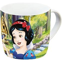 Disney 12768Blancanieves Taza de porcelana, multicolor, 11,5x 8x 8cm