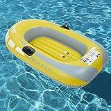Cocoarm Gommone Gonfiabile, gommone da Kayak Gonfiabile in PVC per Pesca Estiva Pesca Pesca Spiaggia Nuoto pagaia Giocattolo alla deriva