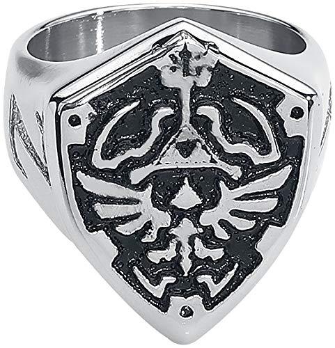 The Legend of Zelda Ring Hyrule Signet Metal Shield