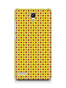 Amez designer printed 3d premium high quality back case cover for Xiaomi Redmi Note Prime (Geometric Bright Pattern7)